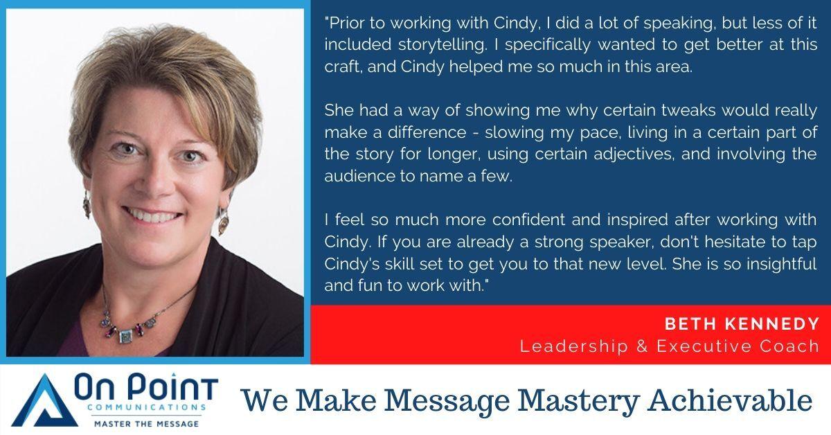 Beth Kennedy testimonial