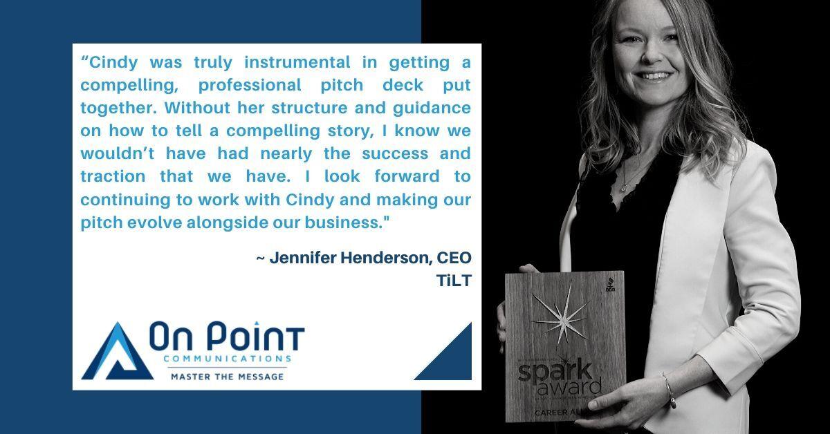 Jennifer Henderson testimonial