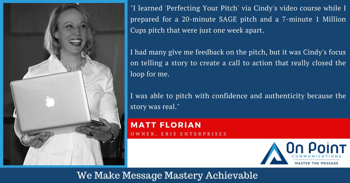 Matt Florian testimonial